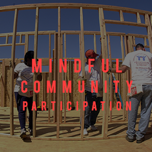 mindful community participation